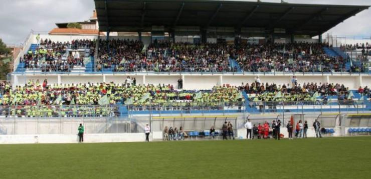 Gli spalti dello stadio Tursi nel corso delle ultime edizioni del Triangolare (+1) Della Solidarietà