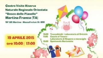 Attività ludiche-creative presso la Riserva del Bosco delle Pianelle