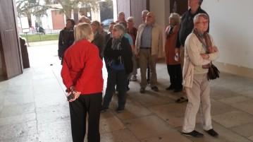 turisti al Palazzo