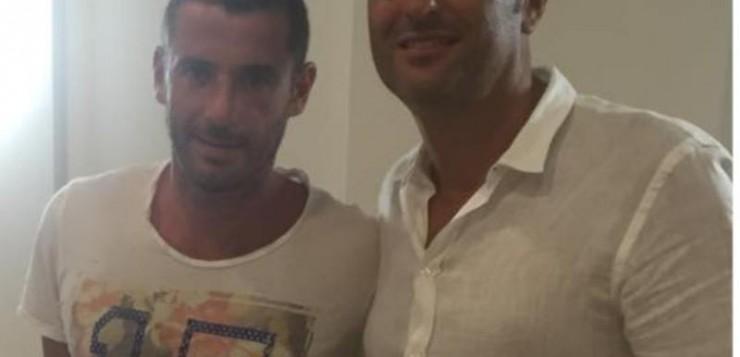 foto Bogliacino con il presidente Lippolis