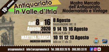 """Partita la 19esima edizione di """"Antiquariato in valle d'Itria"""""""
