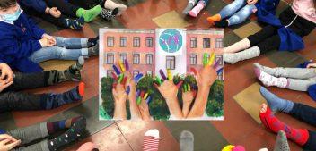 """""""Calzini spaiati"""": festa di colori al """"Marconi"""" nel segno della diversità"""